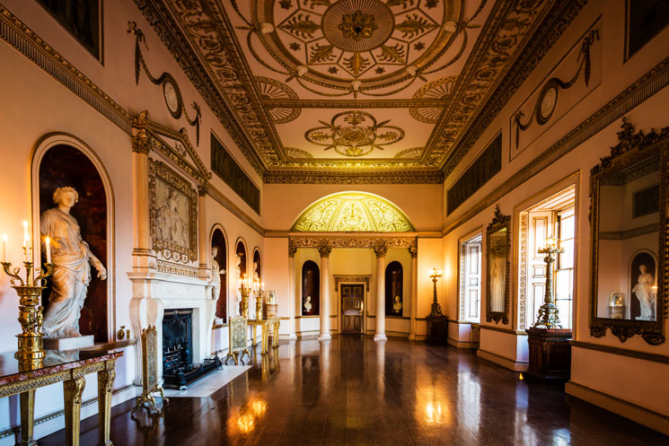 Phong cách thiết kế của Robert Adam tại Syon House