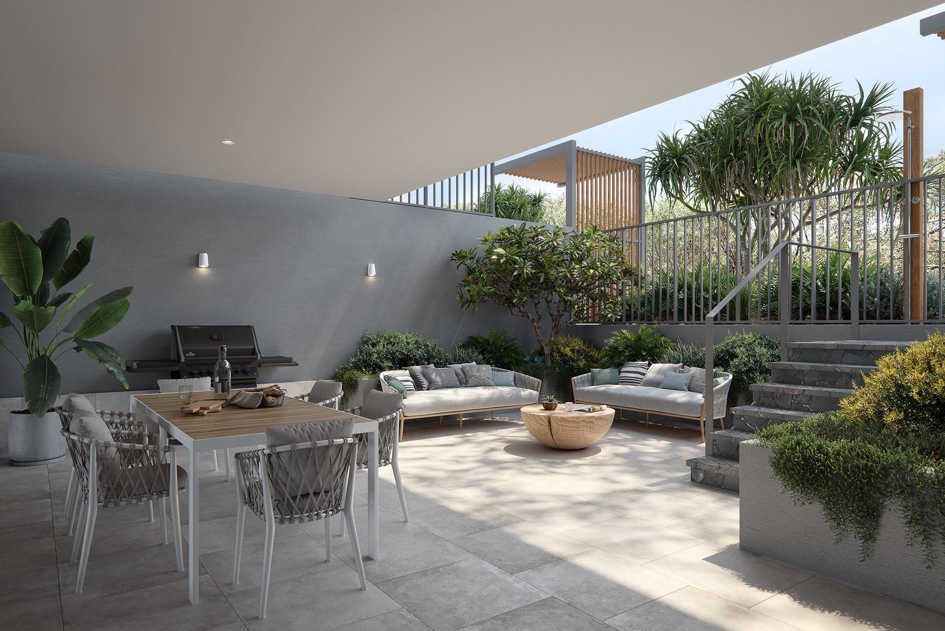 Thiết kế nội thất biệt thự biển sang trọng và hiện đại