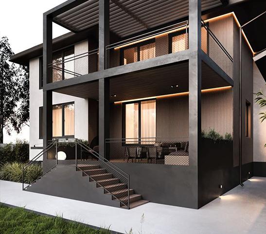 Thiết kế căn biệt thự villa nghỉ dưỡng