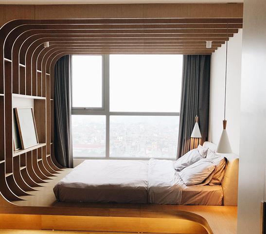 Cặp vợ chồng KTS tự thiết kế căn hộ Vinhomes với phong cách độc lạ