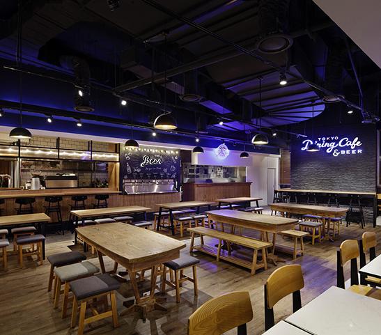 Hải Đăng LUXURY thiết kế nội thất quán cafe CLUB & BEER