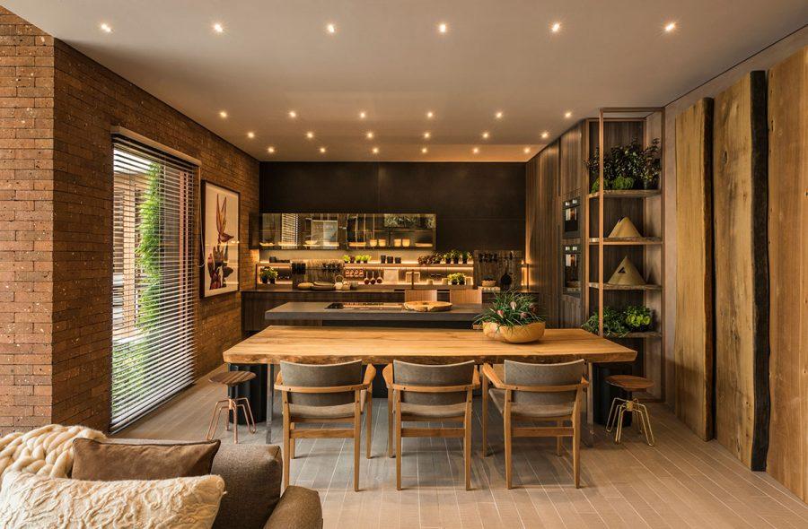 Không gian dành cho khách của biệt thự Casacor Sp 2020
