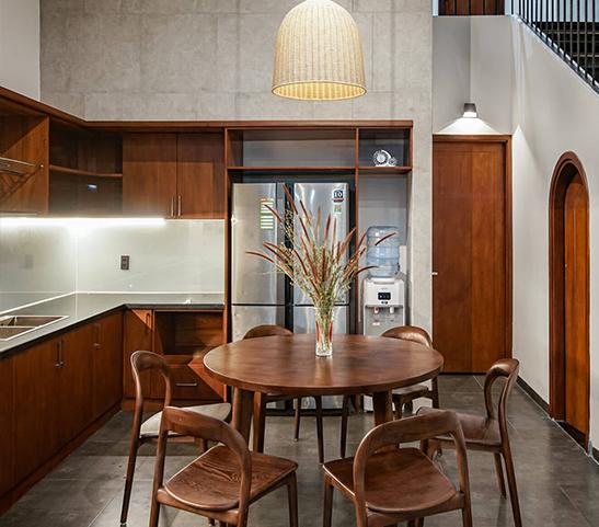 Thiết kế nội thất độc đáo kết hợp truyền thống và hiện đại